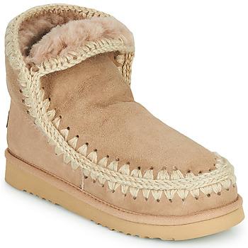 Chaussures Femme Boots Mou ESKIMO 18 Beige