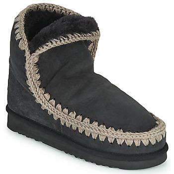 Chaussures Femme Boots Mou ESKIMO 18 Noir