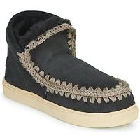 Chaussures Femme Boots Mou ESKIMO SNEAKER Noir
