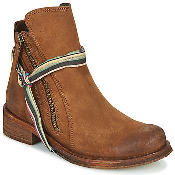 Chaussures Femme Boots Felmini COOPER Camel