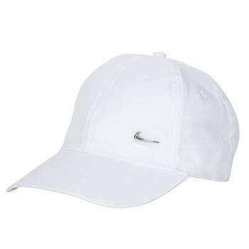 Accessoires textile Casquettes Nike U NSW H86 METAL SWOOSH CAP Blanc / Argenté
