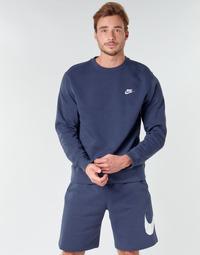 Vêtements Homme Sweats Nike M NSW CLUB CRW BB Bleu