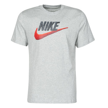 Vêtements Homme T-shirts manches courtes Nike M NSW TEE BRAND MARK Gris