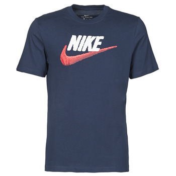 Vêtements Homme T-shirts manches courtes Nike M NSW TEE BRAND MARK Bleu