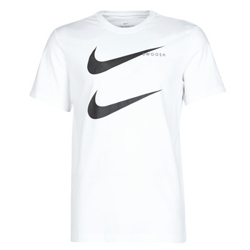 Vêtements Homme T-shirts manches courtes Nike M NSW SS TEE SWOOSH PK 2 Blanc
