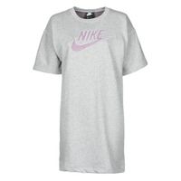 Vêtements Femme Robes courtes Nike W NSW DRESS FT M2Z Gris