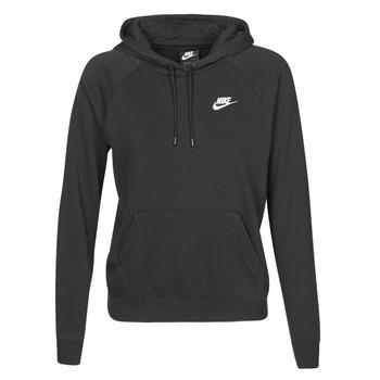 Vêtements Femme Sweats Nike W NSW ESSNTL HOODIE PO FLC Noir