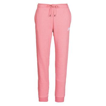 Vêtements Femme Pantalons de survêtement Nike W NSW ESSNTL PANT REG FLC Rose