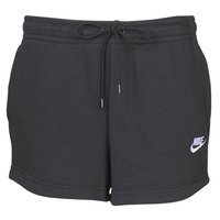 Vêtements Femme Shorts / Bermudas Nike W NSW ESSNTL SHORT FT Noir