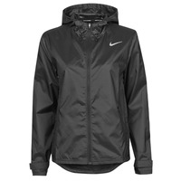 Vêtements Femme Coupes vent Nike W NK ESSENTIAL JACKET Noir