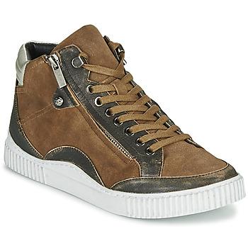 Chaussures Femme Baskets montantes Regard ISLANDE V2 BONGO CHAMOIS Marron