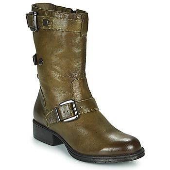 Chaussures Femme Boots Dream in Green  Gris