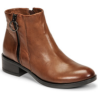 Chaussures Femme Boots Dream in Green NARLINE Camel