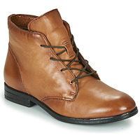 Chaussures Femme Boots Dream in Green  Camel
