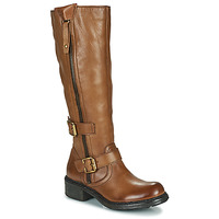 Chaussures Femme Bottes ville Dream in Green NUCETTE Camel