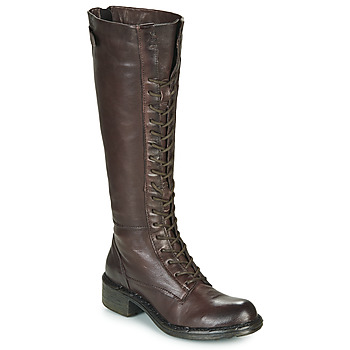 Chaussures Femme Bottes ville Dream in Green NUCRE Marron