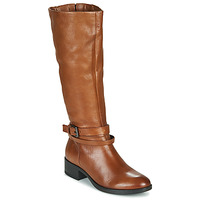 Chaussures Femme Bottes ville Dream in Green NOURON Camel