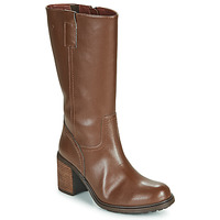 Chaussures Femme Bottes ville Dream in Green NISCUIT Marron