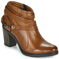 Chaussures Femme Low boots Dream in Green NEGUS Camel