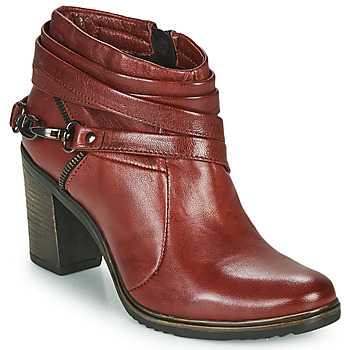 Chaussures Femme Low boots Dream in Green NEGUS Bordeaux