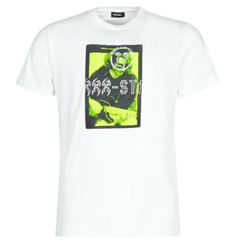 Vêtements Homme T-shirts manches courtes Diesel T-DIEGO J1 Blanc