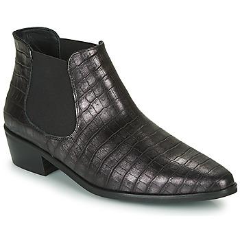 Chaussures Femme Boots Fericelli  Noir / argenté