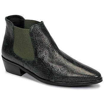 Chaussures Femme Boots Fericelli NANARUM Noir/vert