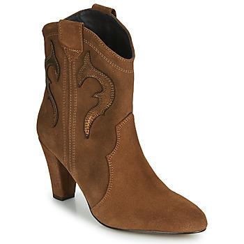 Chaussures Femme Bottines Fericelli NARLOTTE Camel / doré