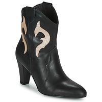 Chaussures Femme Bottines Fericelli NARLOTTE Noir / doré