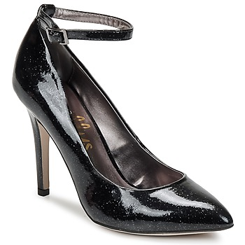 Chaussures Femme Escarpins Shellys London STAR Noir glitter