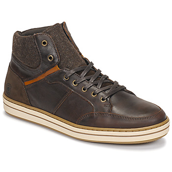 Chaussures Homme Baskets montantes Casual Attitude NOURDON Marron