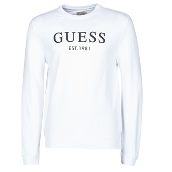 Vêtements Homme Sweats Guess BASTIAN CN FLEECE Blanc