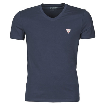 Vêtements Homme T-shirts manches courtes Guess VN SS CORE TEE Marine