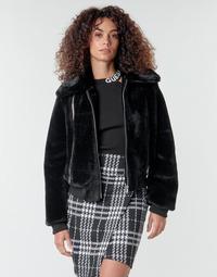 Vêtements Femme Blousons Guess MIRIAM Noir
