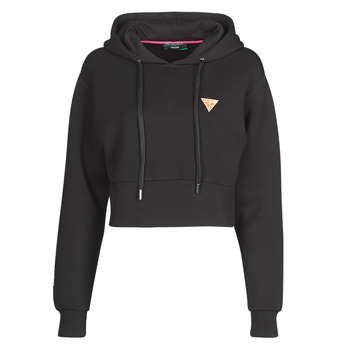 Vêtements Femme Sweats Guess HOODY MINI TRIANGLE Noir