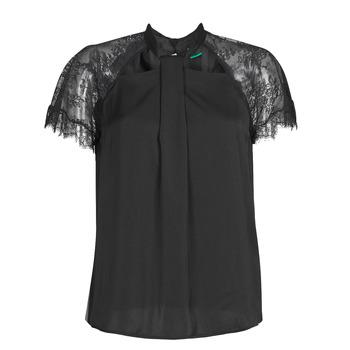 Vêtements Femme Tops / Blouses Guess GERDA Noir