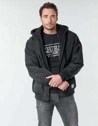 Vêtements Homme Blousons Guess NAUGHTY BOMBER Noir