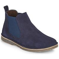 Chaussures Garçon Boots Citrouille et Compagnie HOVETTE Marine
