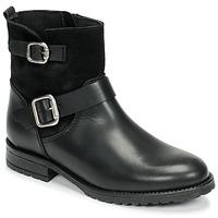 Chaussures Fille Boots Citrouille et Compagnie NIVOLE Noir