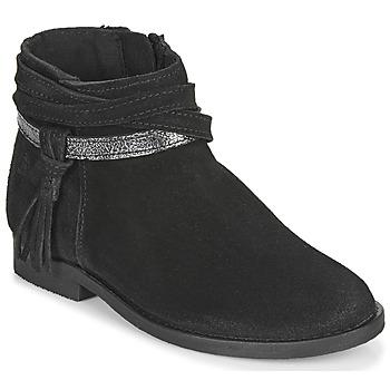 Chaussures Fille Boots Citrouille et Compagnie NIVOLET Noir