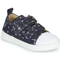 Chaussures Fille Baskets basses Citrouille et Compagnie NADIR Marine /Argenté