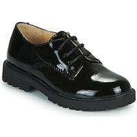 Chaussures Fille Derbies Citrouille et Compagnie NALIME Noir