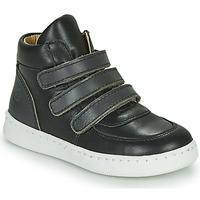 Chaussures Garçon Baskets montantes Citrouille et Compagnie NOSTI Noir/gris