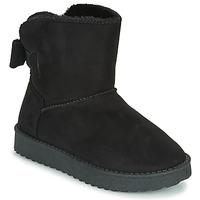 Chaussures Fille Boots Citrouille et Compagnie NOCHO Noir