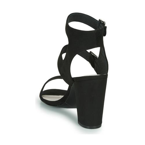 Les Petites Bombes GRACE Noir - Chaussure pas cher avec- Chaussures Sandale Femme 4190 amBV6hom