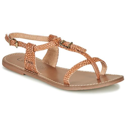 Chaussures Femme Sandales et Nu-pieds Les Petites Bombes ZHOEF Camel