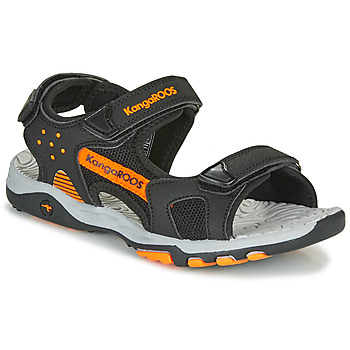 Chaussures Garçon Sandales sport Kangaroos K-Celtic Noir / Orange