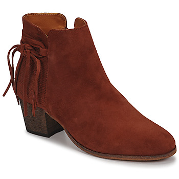 Chaussures Femme Bottines Betty London HEIDI Brique