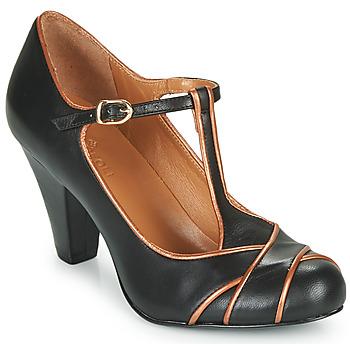 Chaussures Femme Escarpins Cristofoli MESTIS Noir / Bronze