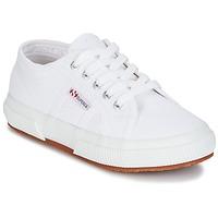 Chaussures Enfant Baskets basses Superga 2750 J COT CLASSIC Blanc